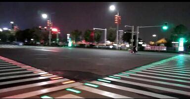 发光地砖灯斑马线信号灯
