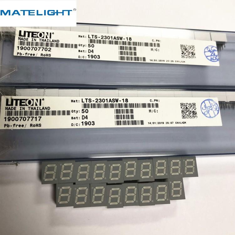 LTS-2301ASW-18显示器模块  LED数码管