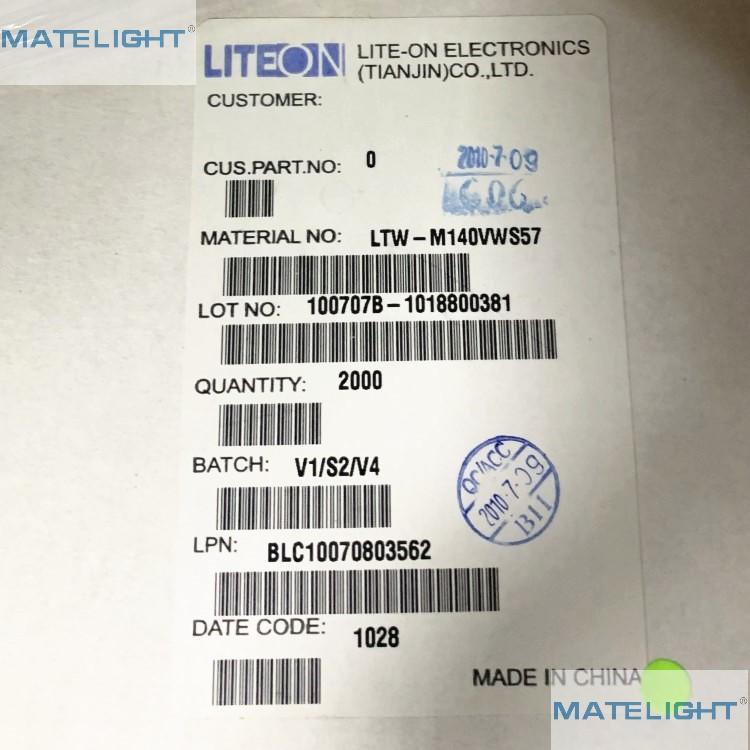 LTW-M140VWS57正白色灯珠LED光宝一级代理商