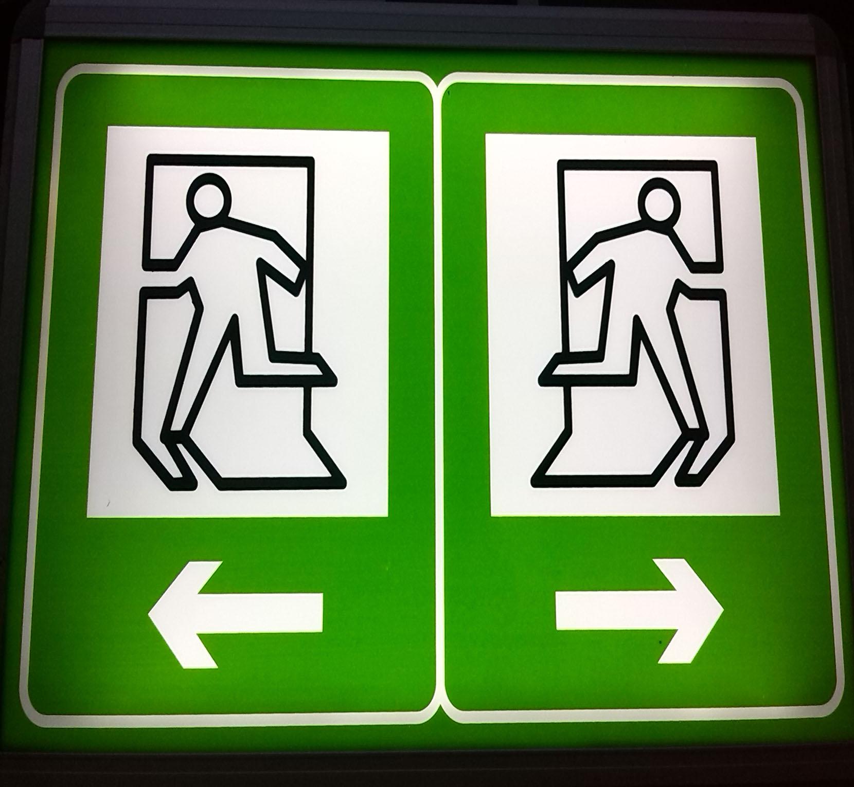 LED隧道应急诱导灯断电应急避灾疏散标志牌