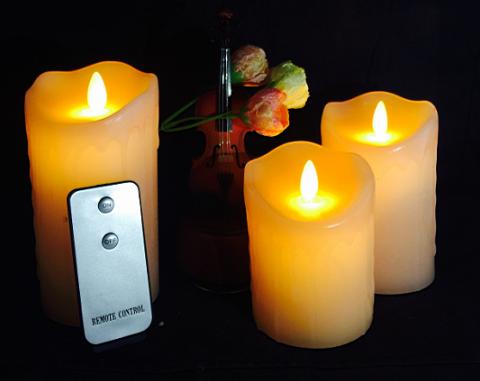 HC-011-AAA电池包摇摆蜡烛LED蜡烛