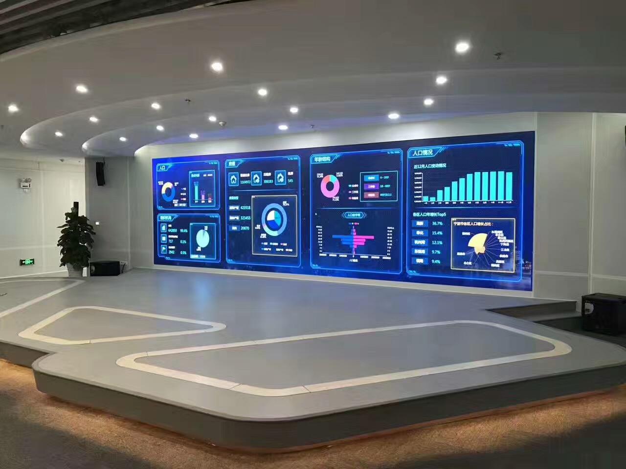 室内P1.5高清LED全彩电子显示屏