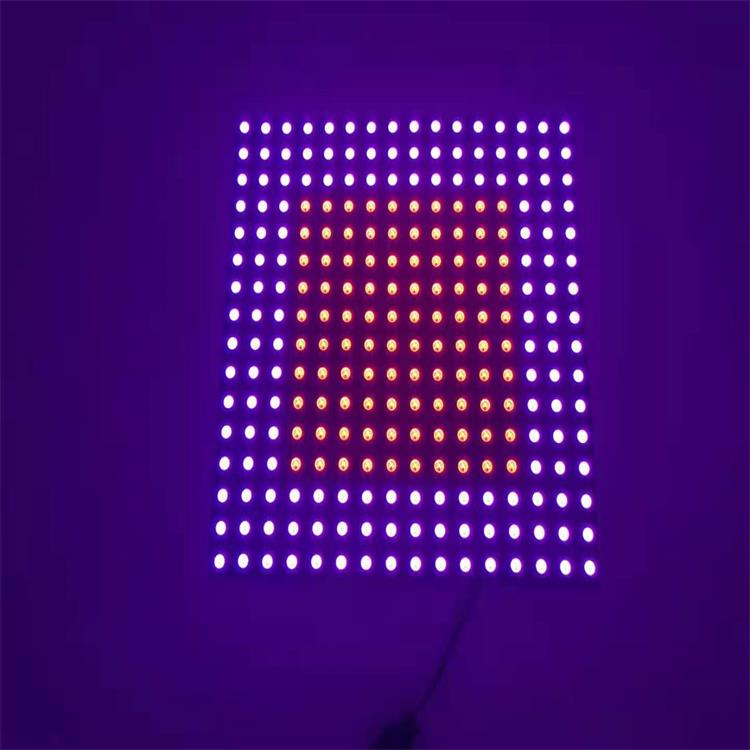 LED5050rgb像素屏16*16mm柔性屏