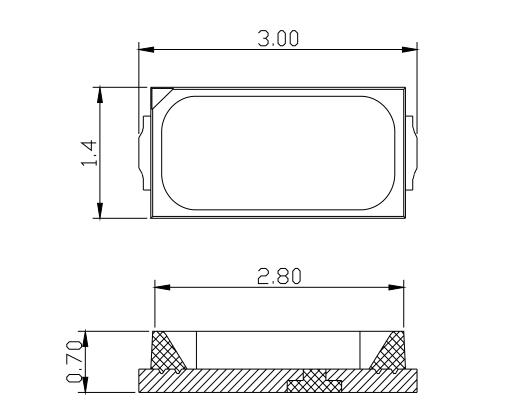 背光源用3014LED发光二极管