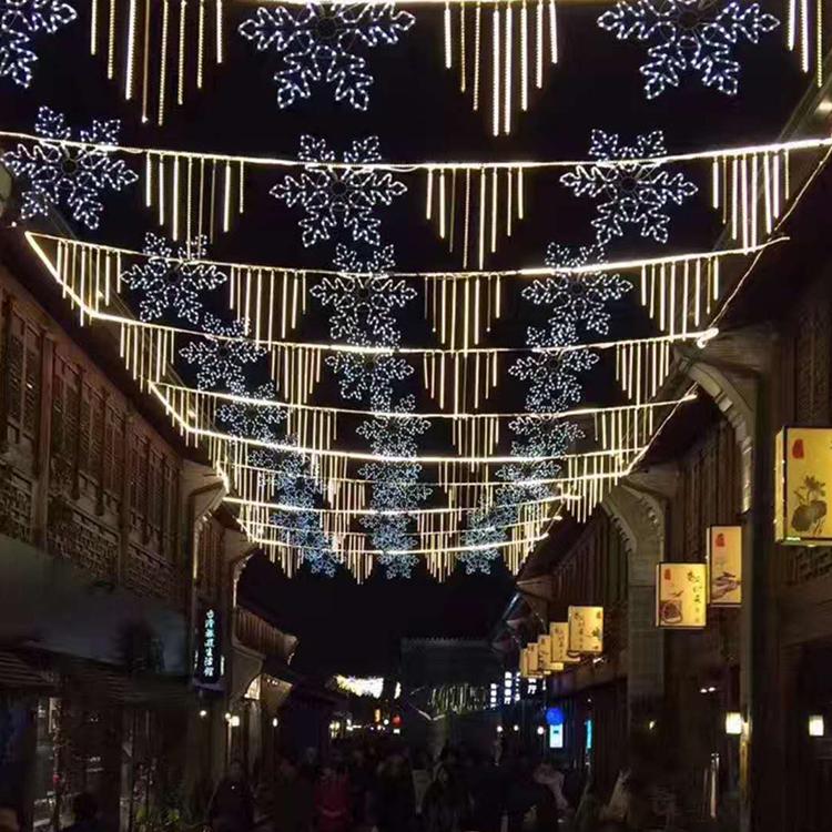 UL流星灯LED流星雨LED流星管LED灯串LED灯带LED圣诞灯50公分