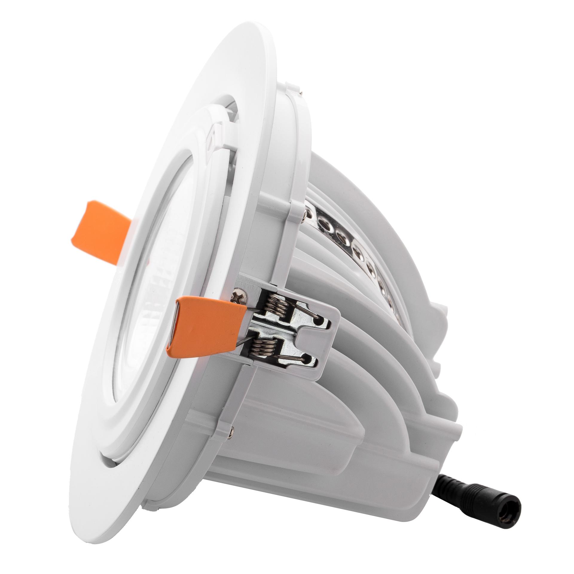 厂家热销款象鼻灯工程款COB筒灯系列15W45W正白暖白照明筒灯